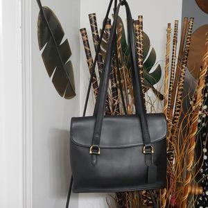 Coach Equestrin flap shopper shoulder bag